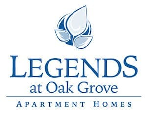 Legends at Oak Grove Apartment Homes Knoxville, TN 37918 Logo