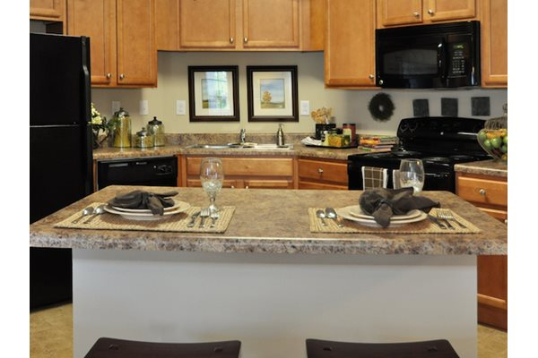 Legends at Oak Grove Apartment Homes Knoxville, TN 37918 faux granite countertops