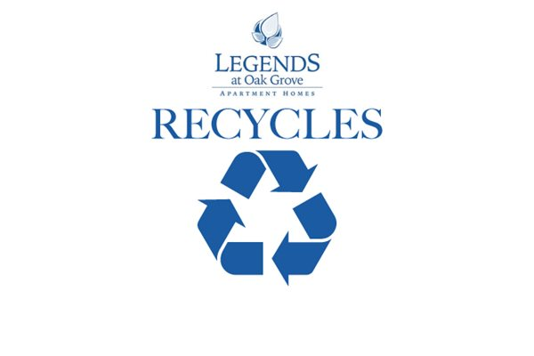 Legends at Oak Grove Apartment Homes Knoxville, TN 37918 recycling program