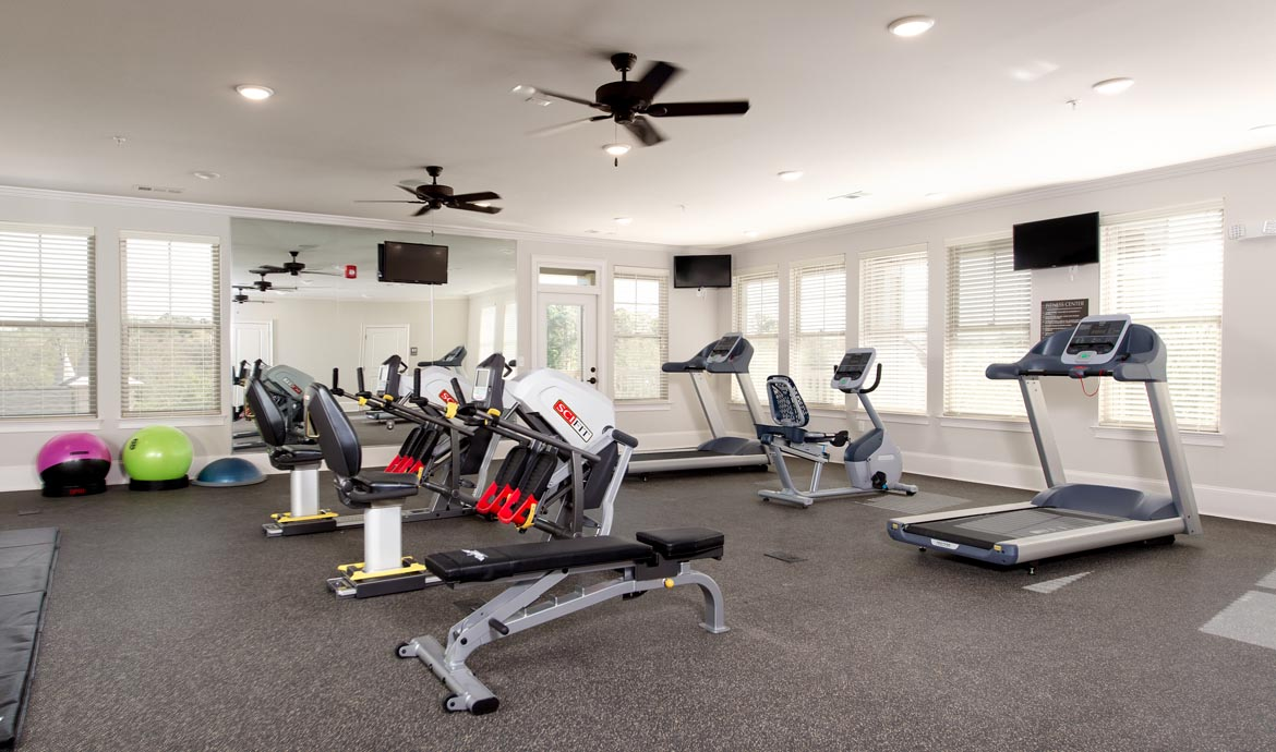 Fitness center at Walton Ridge,  Marietta, GA
