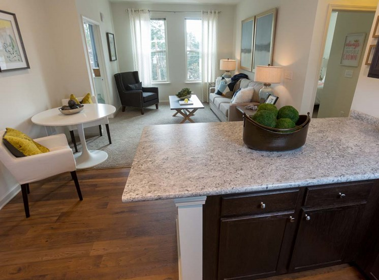 Open floor plans at Walton Ridge, Marietta, GA