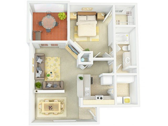 Morocco Floor Plan 1