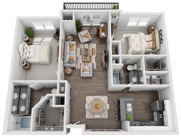 The Centennial Floor Plan 5
