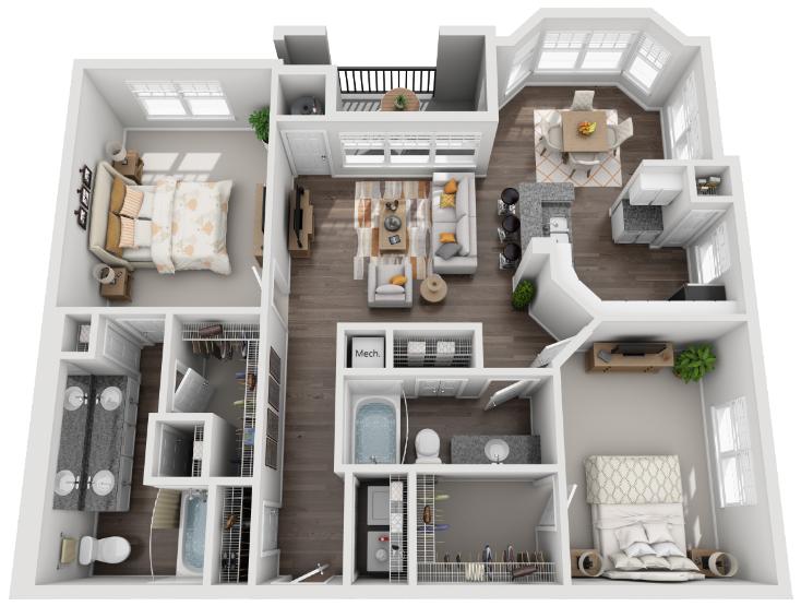 The Metropolitan Floor Plan 6