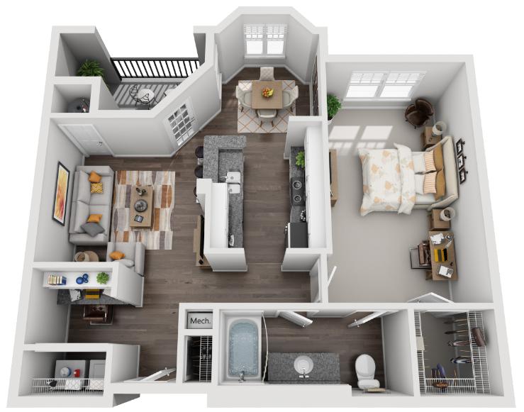 The Midtown Floor Plan 3