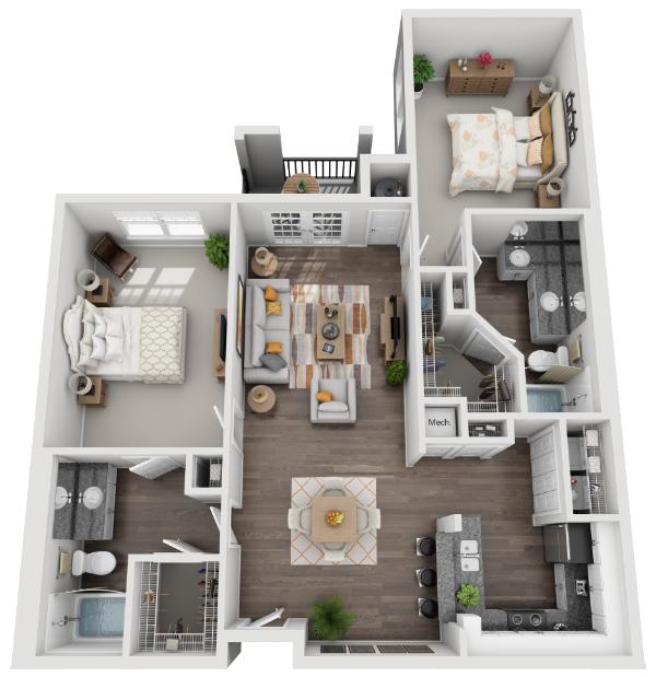 The Savannah Floor Plan 7