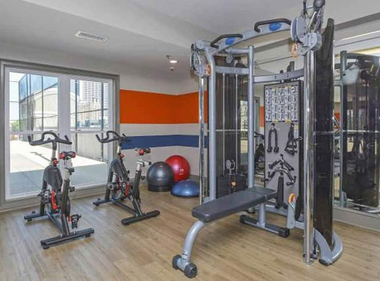 Cutting Edge Fitness Center | Apartments Homes for rent in Atlanta, GA | Savannah Midtown