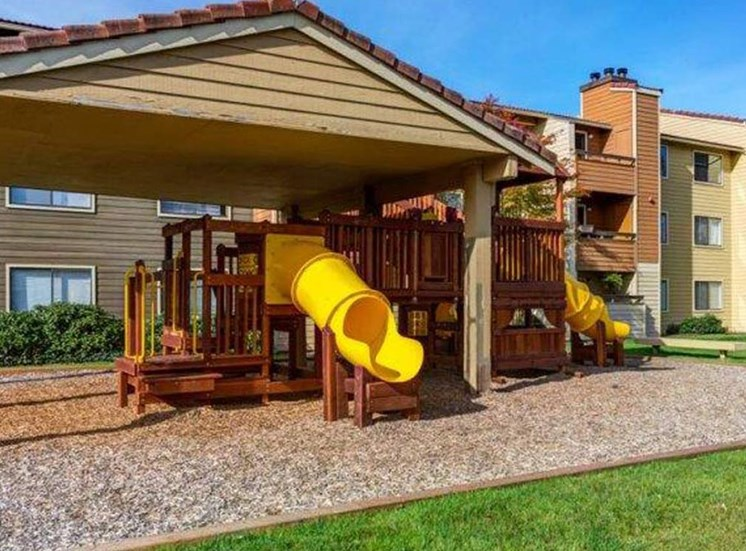 Community Children's Playground | Apartment Homes in Mountlake Terrace, WA | Taluswood Apartments