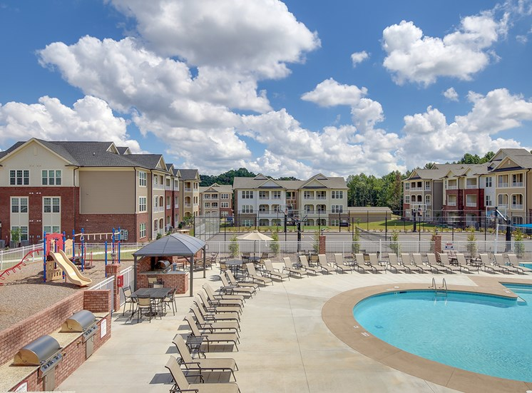 A resort-inspired luxury apartment community at The Villages at McCullers Walk, Raleigh, NC