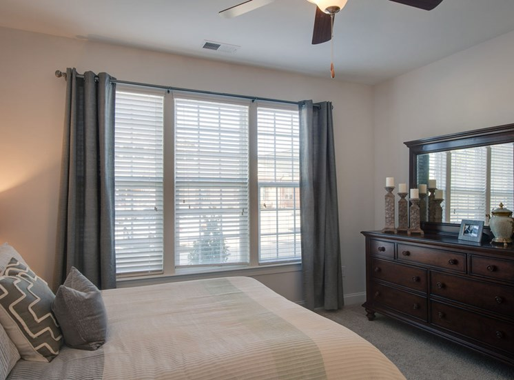 Spacious bedrooms at The Villages at McCullers Walk, Raleigh, NC