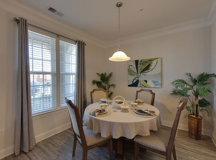 dining at The Villages at McCullers Walk, Raleigh, 27603