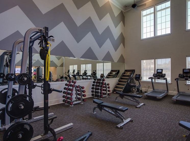 Fitness Center at The Villages at McCullers Walk, Raleigh