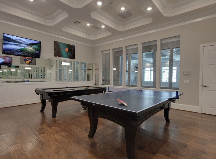 Billiards with TV at The Villages at McCullers Walk, North Carolina, 27603