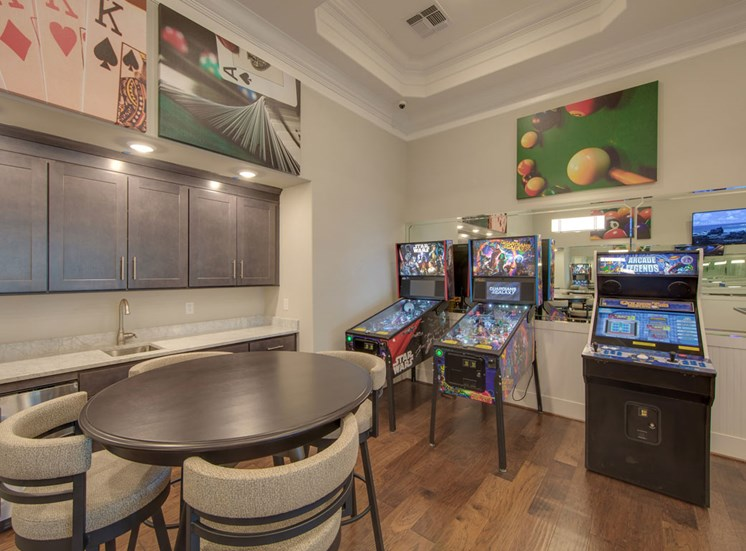 Games and Pinball at The Villages at McCullers Walk, Raleigh, NC, 27603