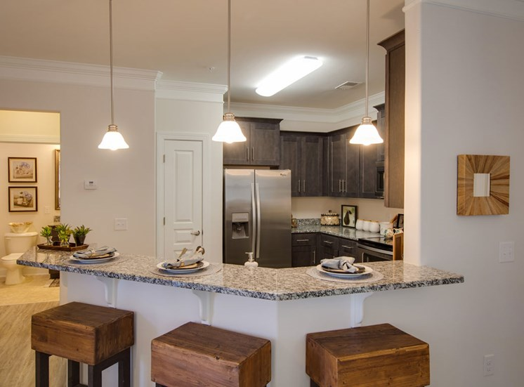 Luxury kitchen at The Villages at McCullers Walk, Raleigh, North Carolina