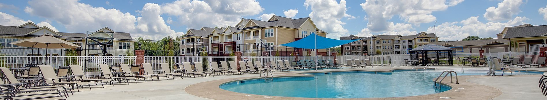 Sparkling Pool at The Villages at McCullers Walk, Raleigh, NC, 27603
