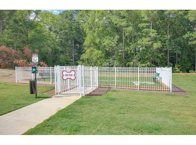 Dog Park at The Villages at McCullers Walk, North Carolina