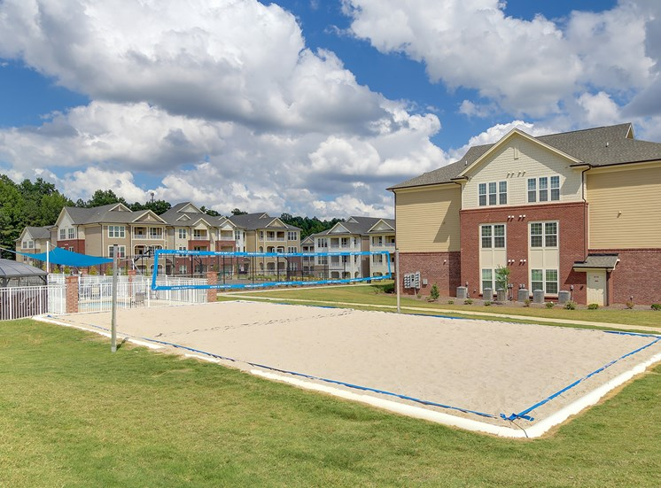 Sand volleyball court at The Villages at McCullers Walk, Raleigh, 27603