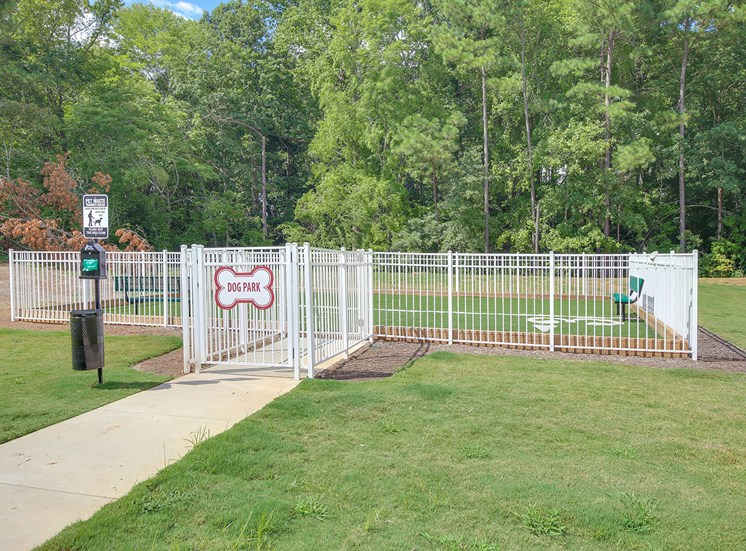 Dog Park at The Villages at McCullers Walk, North Carolina