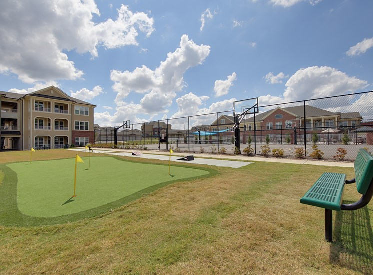 Putting Green at The Villages at McCullers Walk, Raleigh, NC, 27603