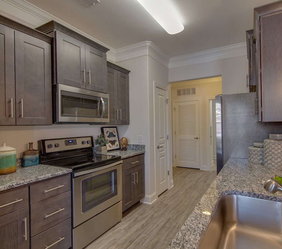Fitted kitchen at The Villages at McCullers Walk, Raleigh
