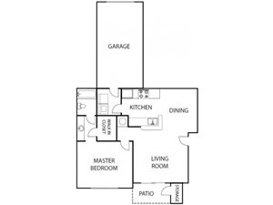 Beechnut 1 bedroom 1 bath bay club apartment homes jacksonville florida