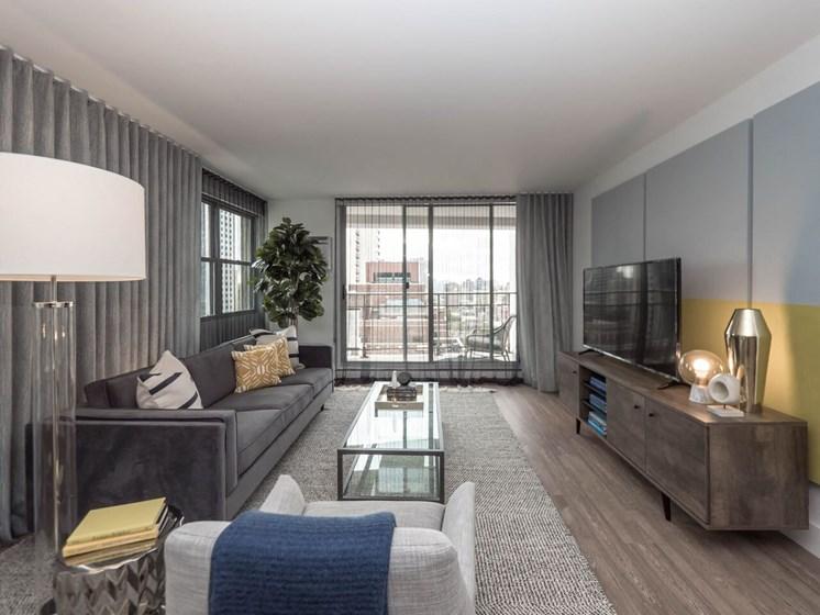 Contemporary Studio Apartment at Wave, Chicago, IL 60657