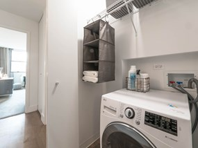 In-suite Washer & Dryer at Wave, Chicago, IL, 60657