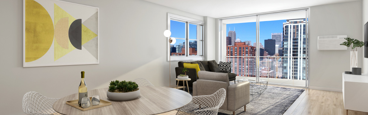 Modern Apartment with Amazing Views at Wave, Chicago, IL