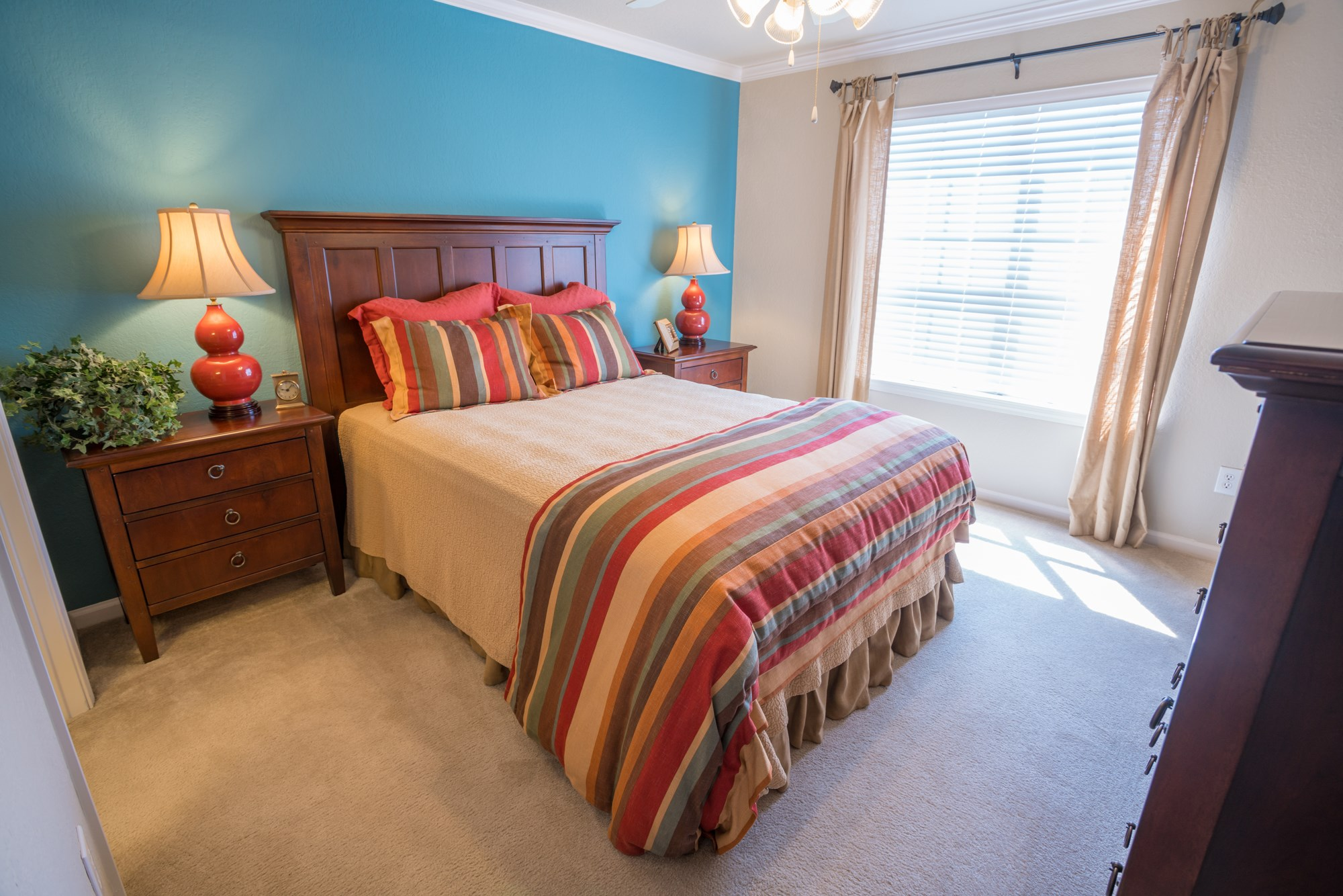 Bedroom at The Haven at Commons Park Apartments in Chattanooga, TN