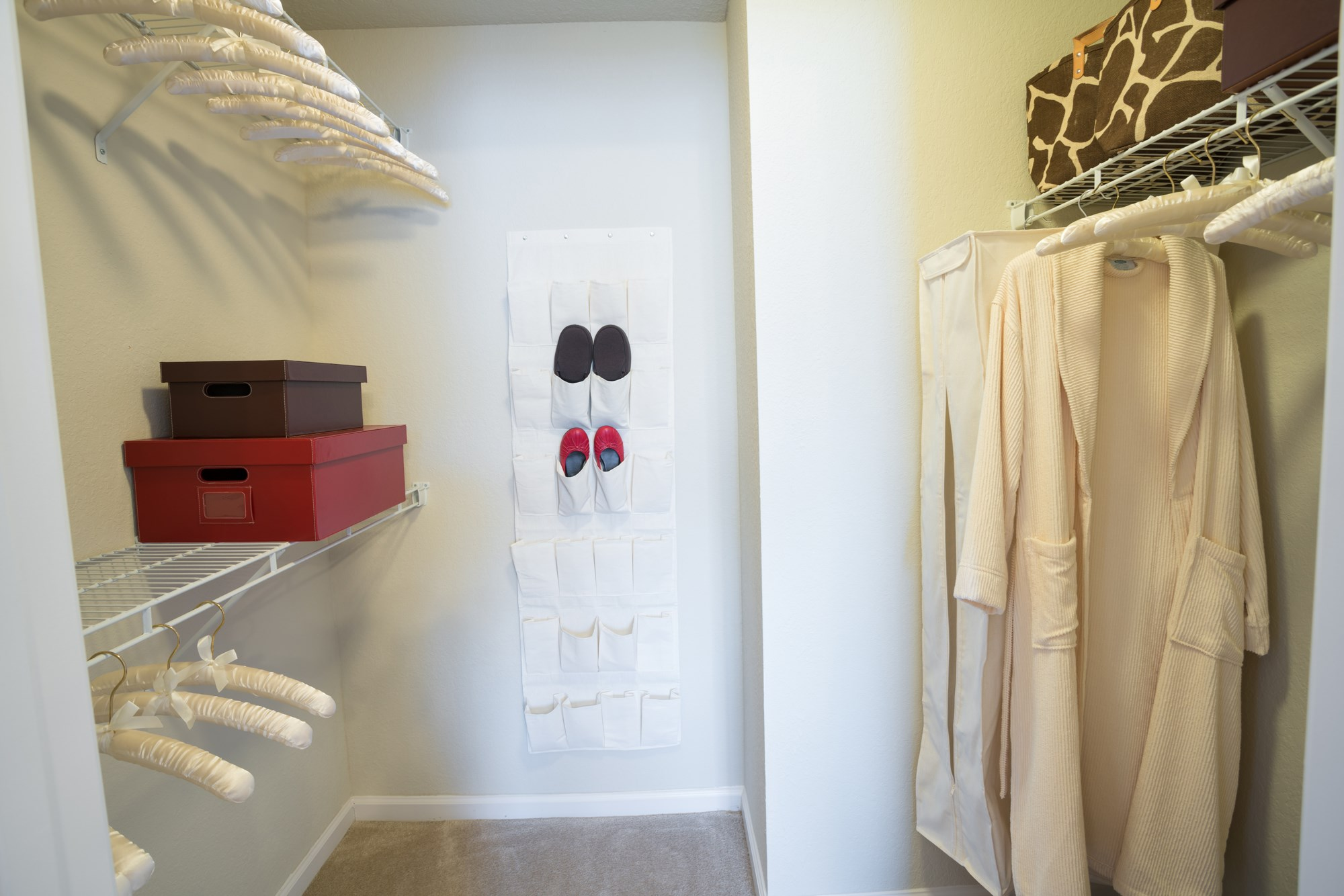 Walk-In Closet at The Haven at Commons Park Apartments in Chattanooga, TN