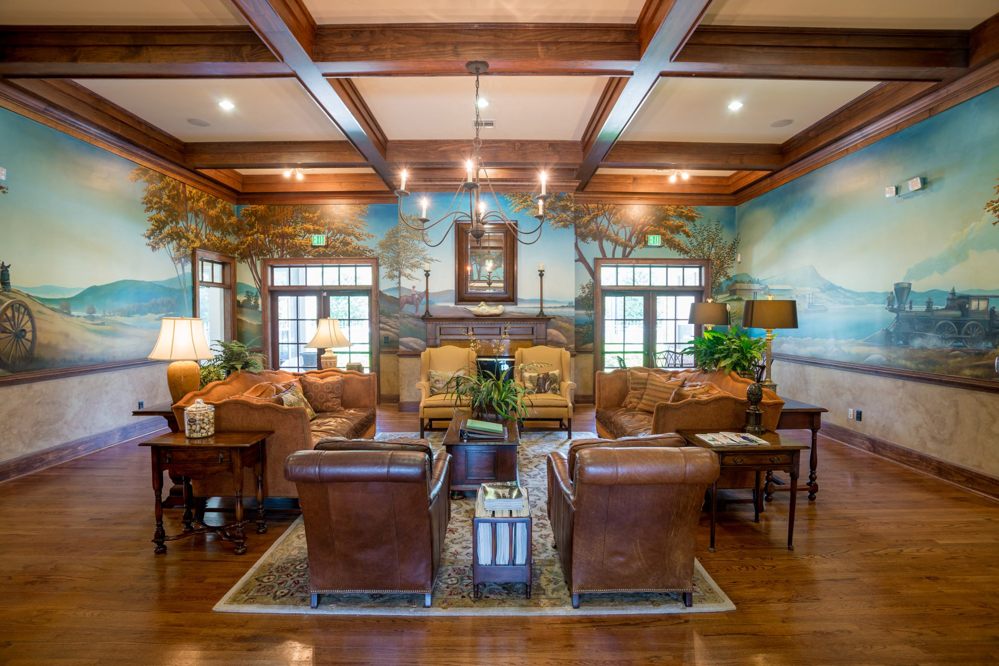Clubhouse at The Haven at Commons Park Apartments in Chattanooga, TN