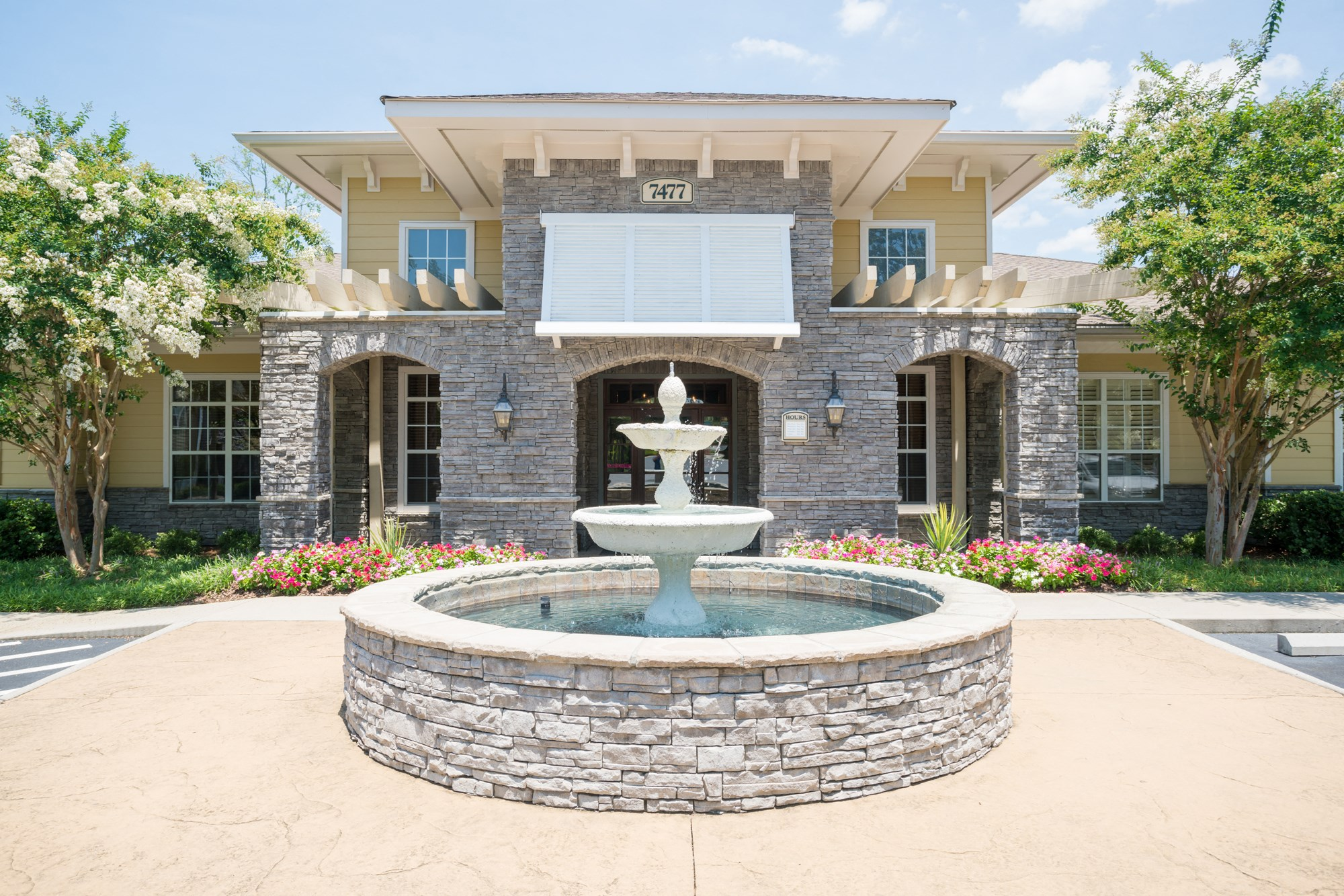 Fountain at The Haven at Commons Park Apartments in Chattanooga, TN