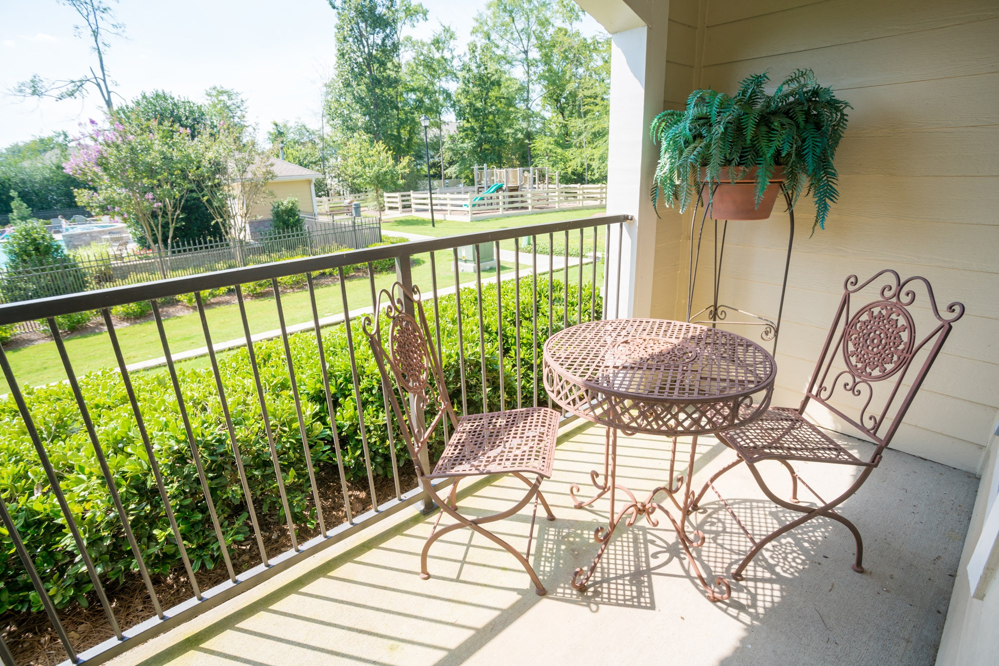 Balcony at The Haven at Commons Park Apartments in Chattanooga, TN