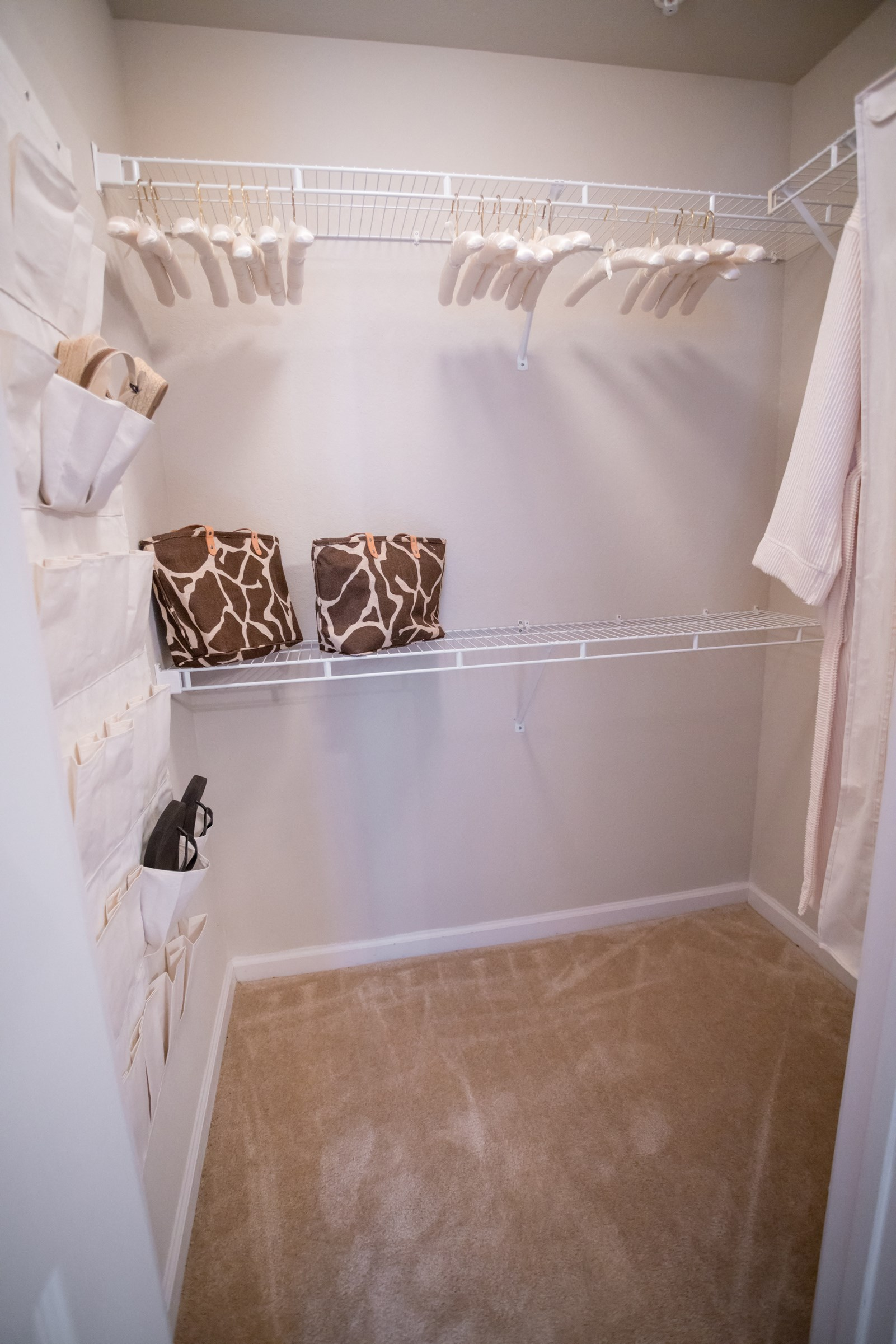 Walk-In Closet at Verandas at Taylor Oaks Apartments in Montgomery, AL