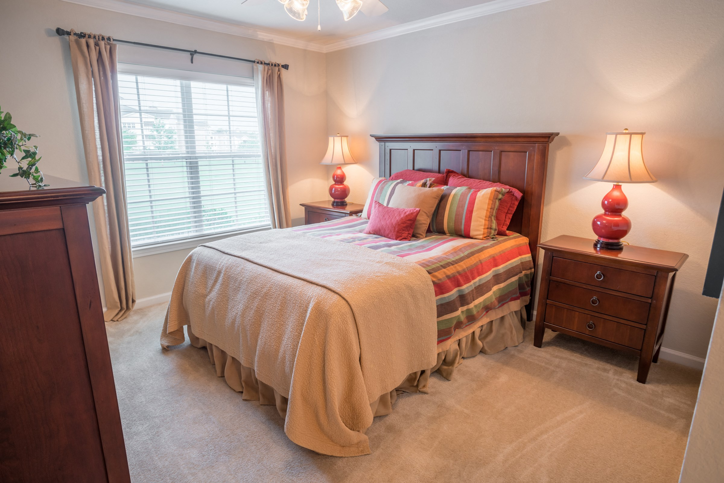 Bedroom at Verandas at Taylor Oaks Apartments in Montgomery, AL