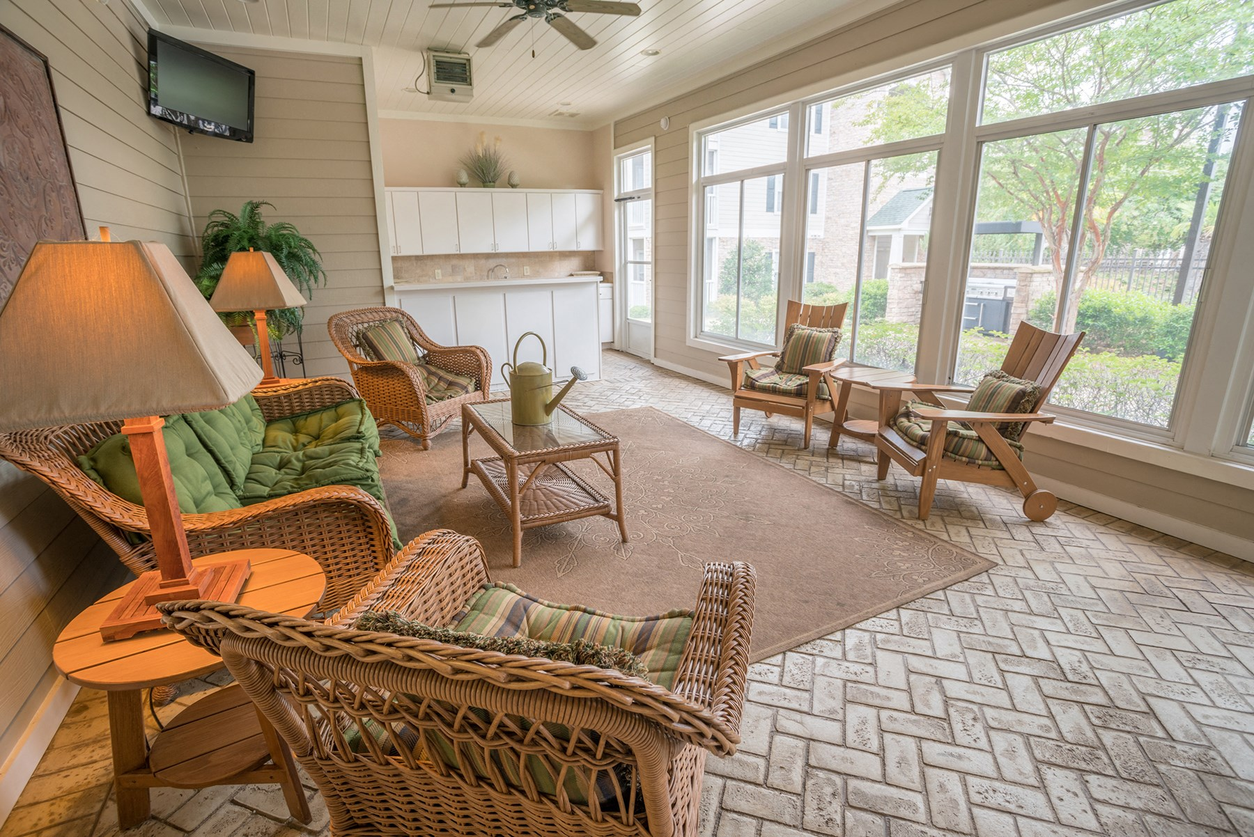 Clubhouse at Verandas at Taylor Oaks Apartments in Montgomery, AL