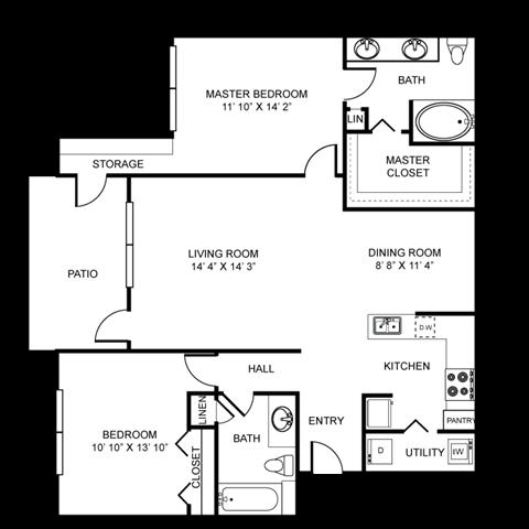 CANTERBURY Floor Plan 4