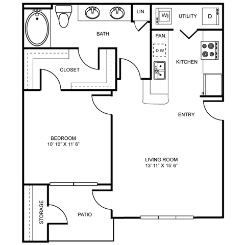 WINCHESTER Floor Plan 1