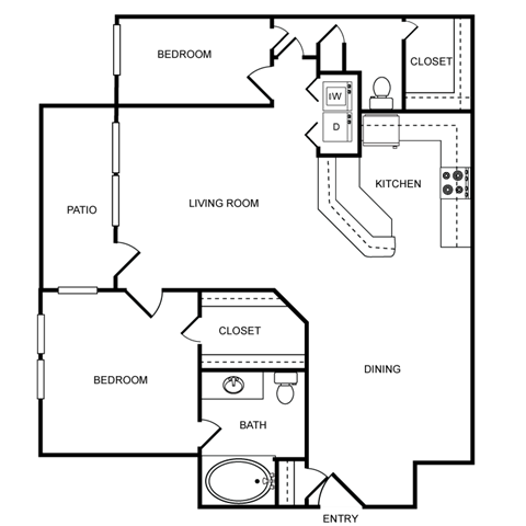 HEATHROW Floor Plan 4