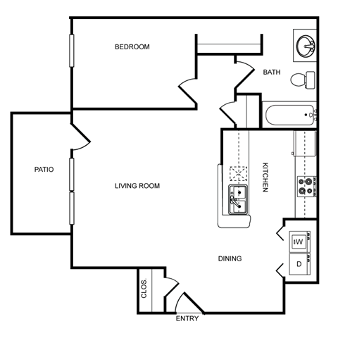 SOUTH HAMPTON Floor Plan 1