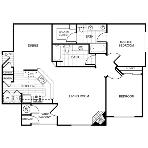 THE MESQUITE Floor Plan 12
