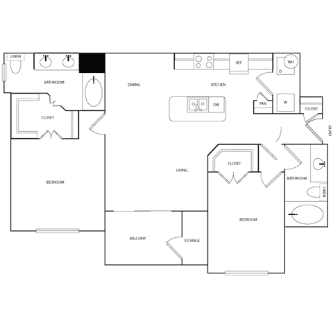 SEGUIN Floor Plan 7