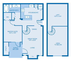 The Madison Floorplan