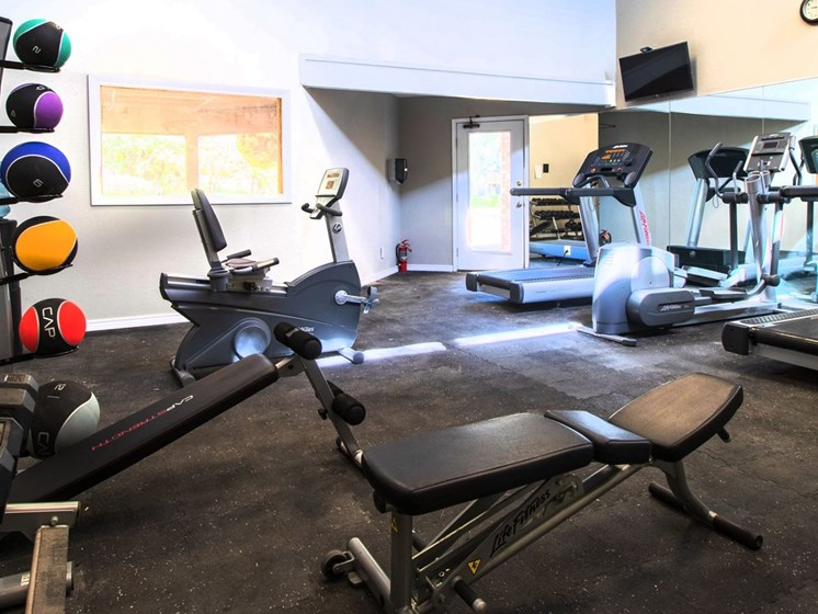 Fitness Center at Country Club Villas in Abilene TX