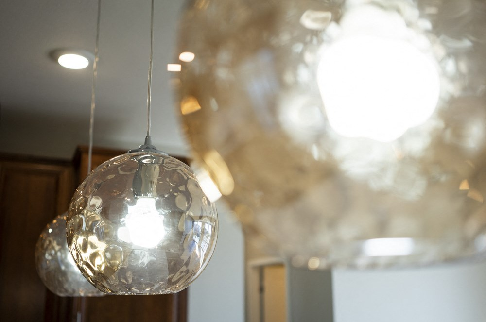 Lighting fixture in premium unit at Ascend at Woodbury new luxury apartments in Woodbury MN 55129