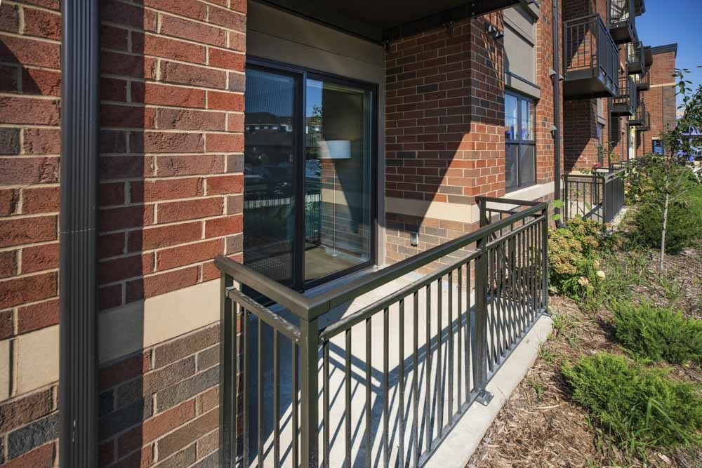 Apartments include a private balcony at Ascend at Woodbury new luxury apartments in Woodbury MN 55129