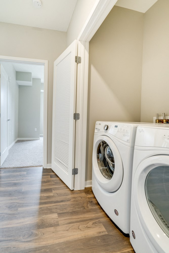 Washer and dryer included at Ascend at Woodbury apartments in MN