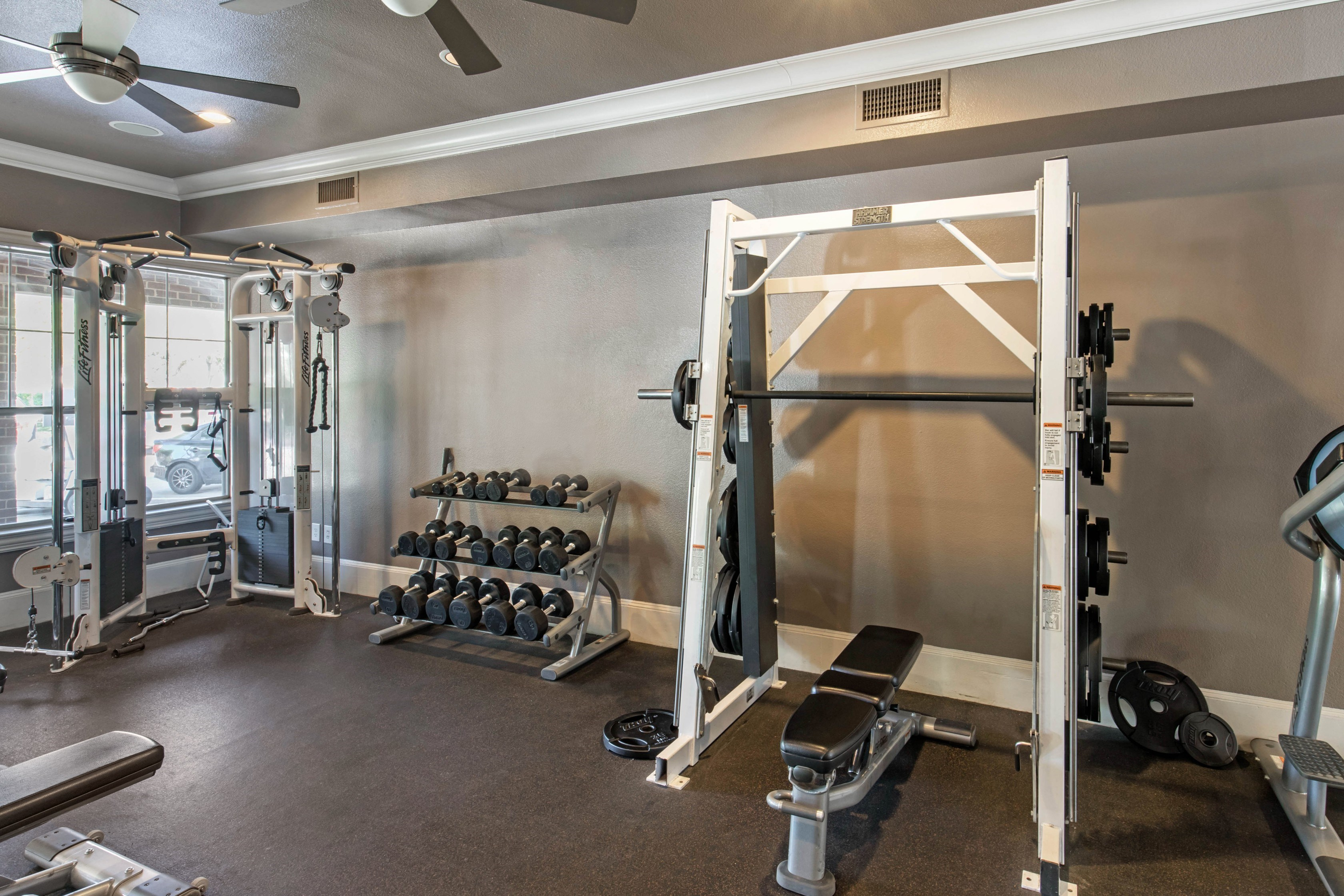 The Lincoln at Towne Square  Fitness Center with Free Weights