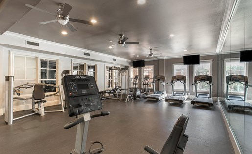The Lincoln at Towne Square Apartments in Plano, TX Fitness Center